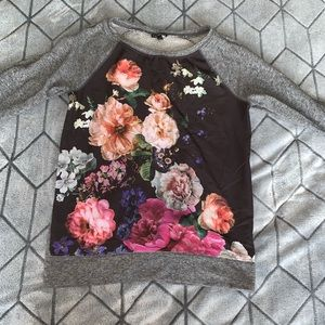 Grey soft sweater